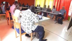 Photo des participants en séance plenière