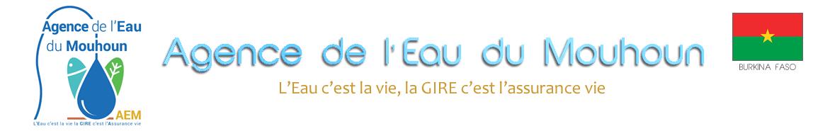 Agence de l'Eau du Mouhoun (AEM)
